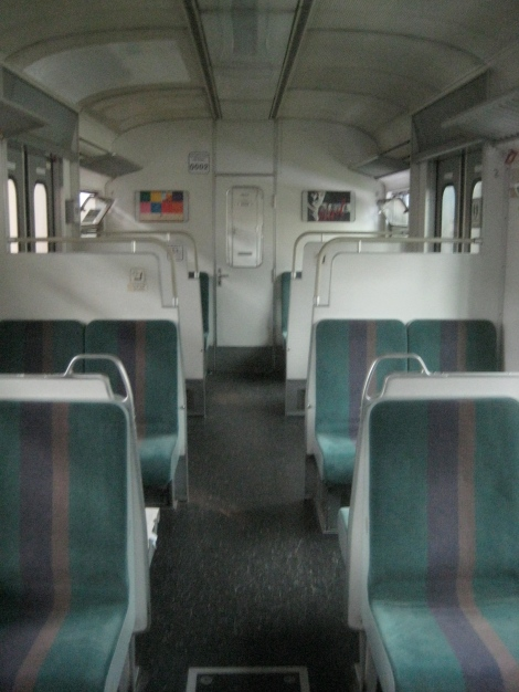 interior of an earlier S-Bahn