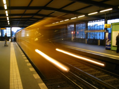 The U-Bahn in motion