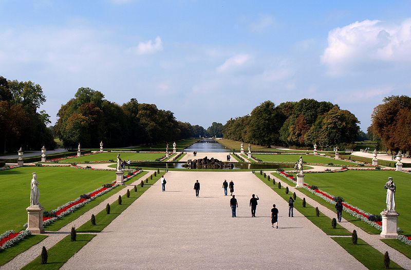 Nymphenburg Palace, Munich, Bavaria, not a stone out of place. Not one single stone.