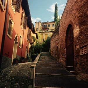going up up up in Verona